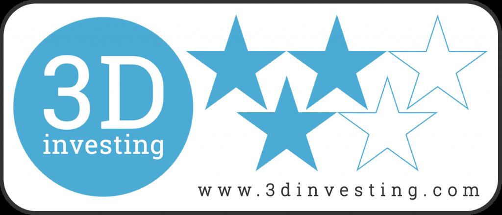 3D Investing logo